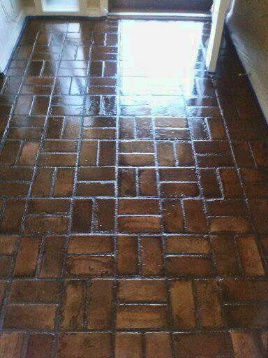 Dallas Brick Floor Restoration Cleaning Polishing