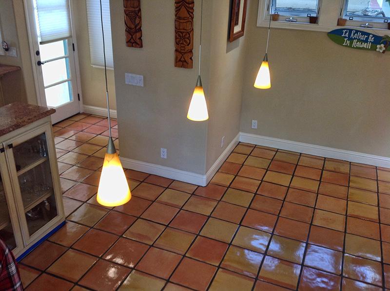 Dallas Saltillo Floor Restoration Cleaning Polishing Refinishing