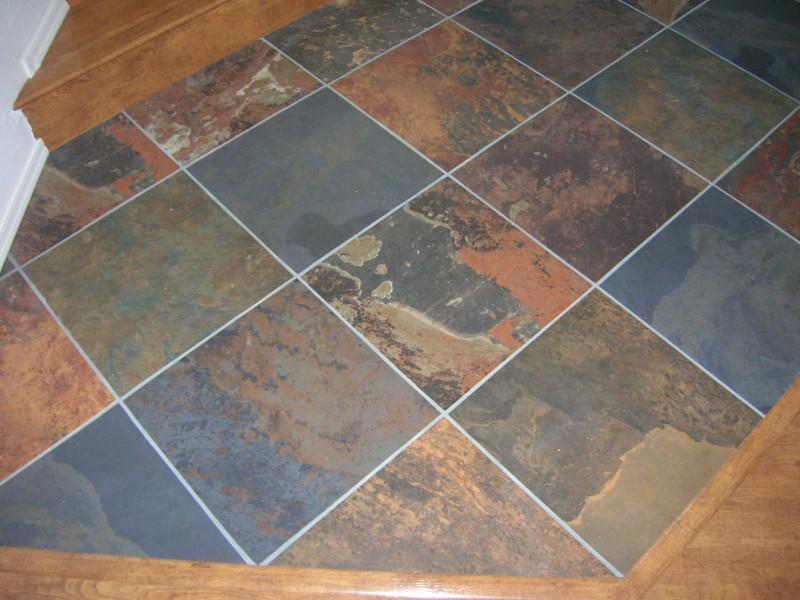 Dallas Slate Floor Restoration Cleaning Polishing